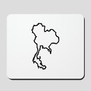 OPEN THAILAND OUTLINE Mousepad