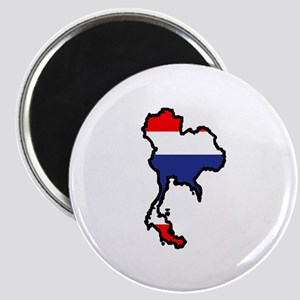 THAILAND MAP FLAG Magnets