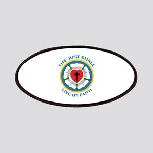 LIVE BY FAITH Patches