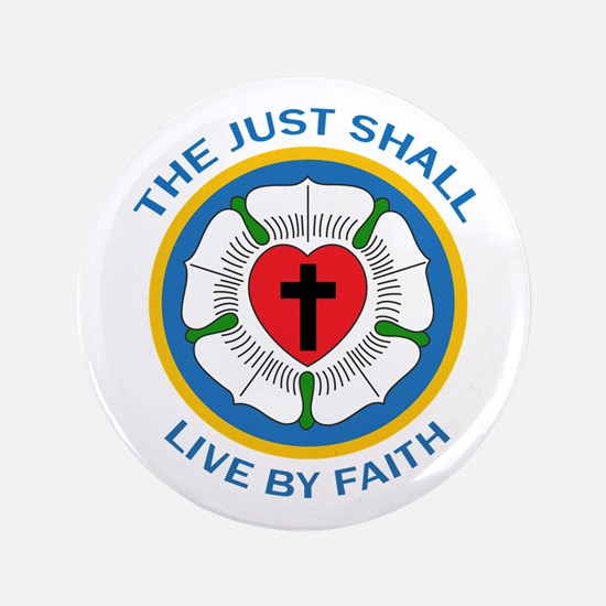 "LIVE BY FAITH 3.5"" Button"