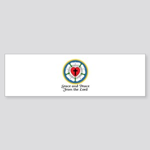 GRACE AND PEACE Bumper Sticker