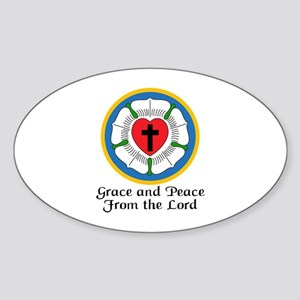 GRACE AND PEACE Sticker