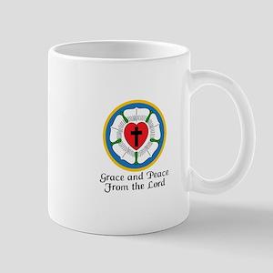 GRACE AND PEACE Mugs