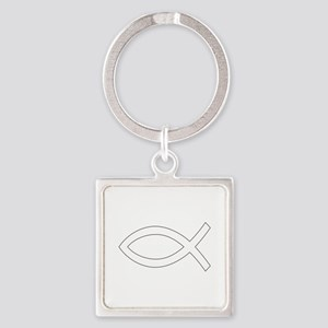 REV APP CHRISTIAN FISH M Keychains