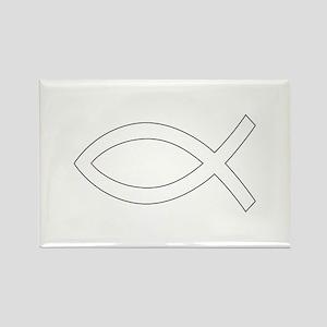 REV APP CHRISTIAN FISH M Magnets