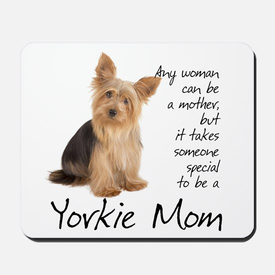Yorkie Mom Mousepad
