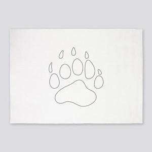 REV APP BEAR PAW M 5'x7'Area Rug