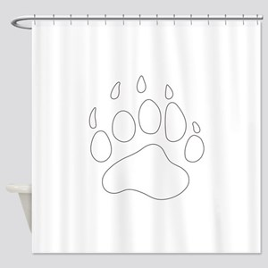 REV APP BEAR PAW M Shower Curtain