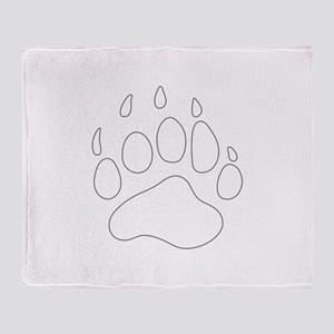 REV APP BEAR PAW M Throw Blanket