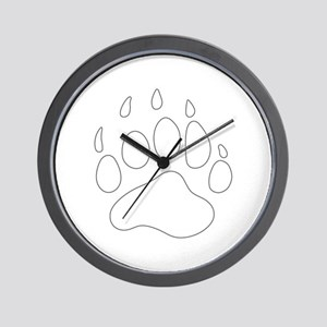 REV APP BEAR PAW M Wall Clock
