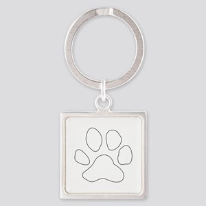 REVERSE APP TIGER PAW S Keychains