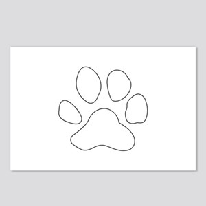 REVERSE APP TIGER PAW S Postcards (Package of 8)