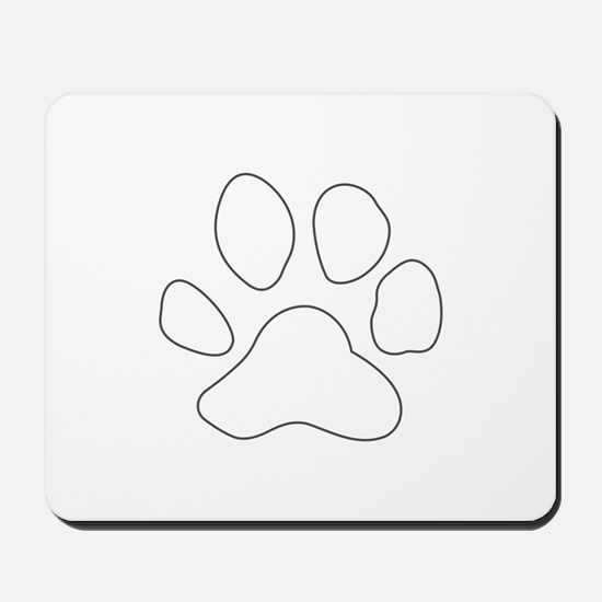 REVERSE APP TIGER PAW S Mousepad