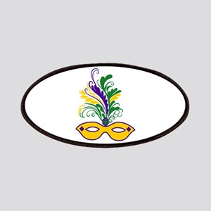 MARDI GRAS MASK Patches