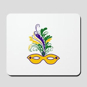 MARDI GRAS MASK Mousepad
