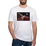 Son Set Goals Fitted T-Shirt