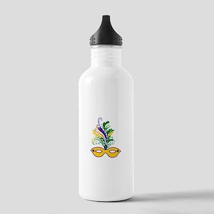 MARDI GRAS MASK Water Bottle