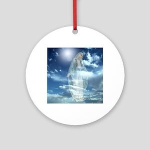 Madonna Round Ornament