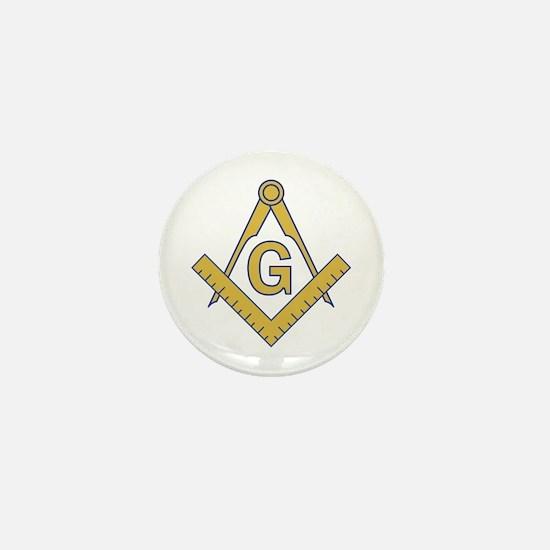 MASONIC EMBLEM Mini Button (10 pack)