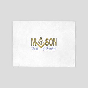 MASON BAND OF BROTHERS 5'x7'Area Rug