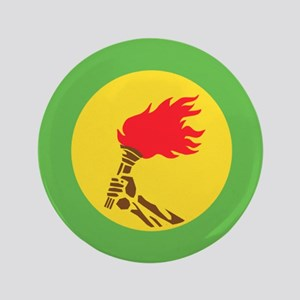 "Zaire flag 3.5"" Button"