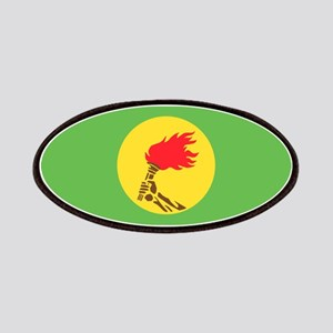 Zaire flag Patches