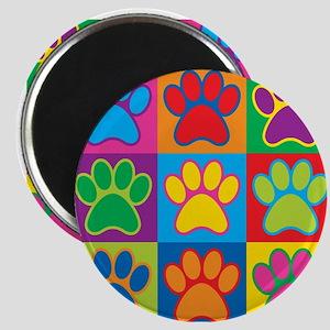 Pop Art Paws Magnets