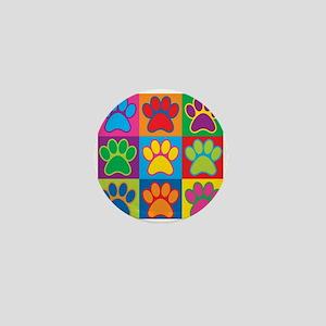 Pop Art Paws Mini Button