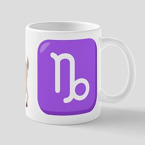 Emoji Capricorn Zodiac 11 oz Ceramic Mug