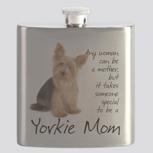 Yorkie Mom Flask