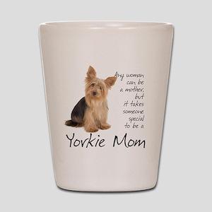 Yorkie Mom Shot Glass