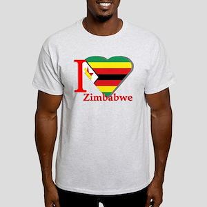I love Zimbabwe Light T-Shirt