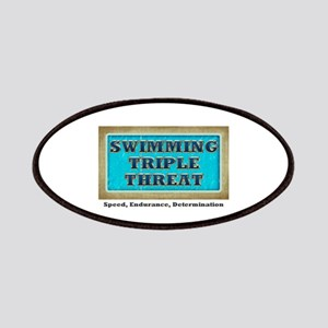 Swimming Triple Threat Patches