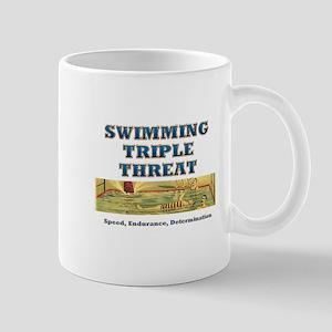 Swimming Triple Threat Mug