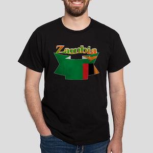 Ribbon Zambia Dark T-Shirt
