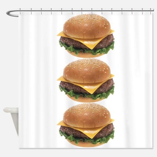 Burger Joint Shower Curtain