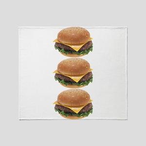Burger Joint Throw Blanket