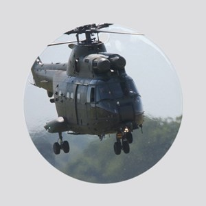 Puma helicopter Ornament (Round)