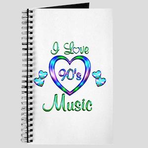 I Love 90s Music Journal