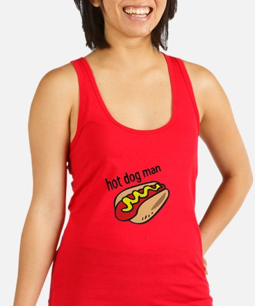 HOT DOG MAN Racerback Tank Top