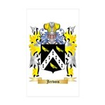 Jervois Sticker (Rectangle 50 pk)