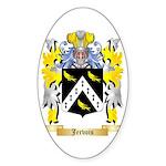Jervois Sticker (Oval 50 pk)