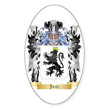 Jertz Sticker (Oval)