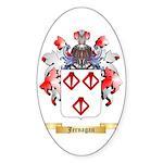 Jernagan Sticker (Oval 50 pk)