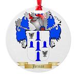 Jerman Round Ornament