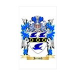 Jerisch Sticker (Rectangle 50 pk)