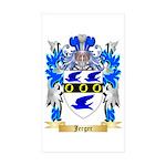 Jerger Sticker (Rectangle 10 pk)