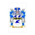 Jerger Sticker (Rectangle 50 pk)