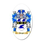 Jerger 35x21 Oval Wall Decal