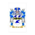 Jerg Sticker (Rectangle 50 pk)